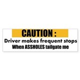 Tailgating bumper Single