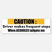 I hate tailgaters