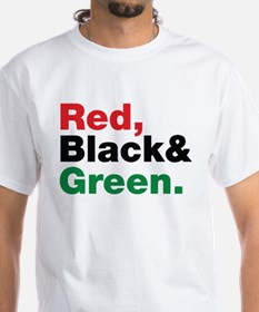 Red, Black and Green. Shirt