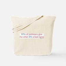 Anti-Incumbent Politician Tote Bag