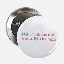 Anti-Incumbent Politician Button
