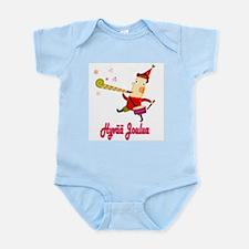 Hyvää Joulua Elf With A Horn Infant Bodysuit
