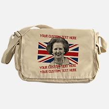 CUSTOM TEXT Thatcher UK Messenger Bag