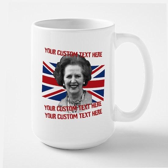 CUSTOM TEXT Thatcher UK Mug