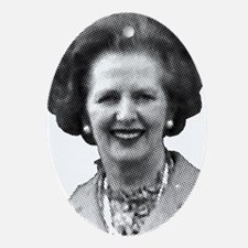 thatcher Ornament (Oval)
