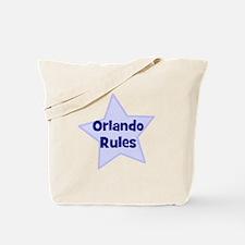 Orlando Rules Tote Bag