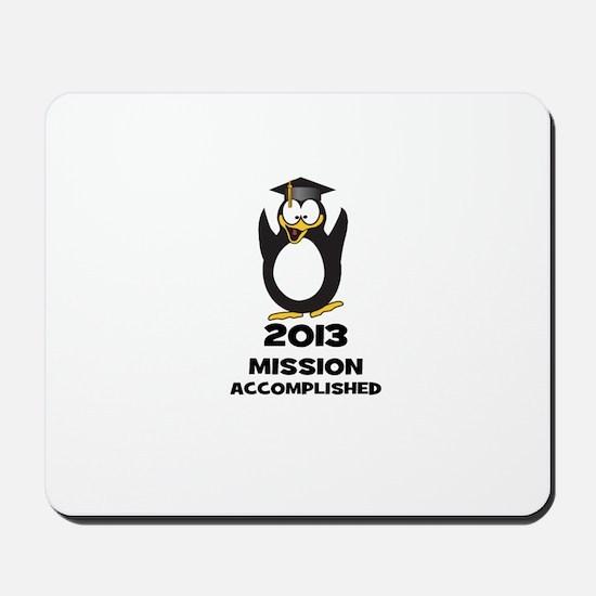 2013 Grad Mission Accomplished Mousepad