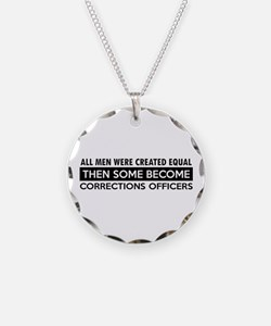 Correction Officers Designs Necklace