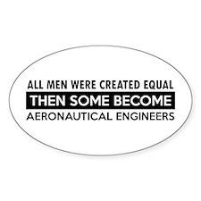 Aeronautical Engineer Designs Decal