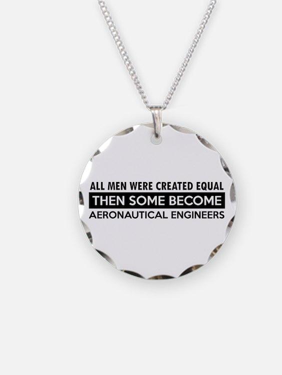 Aeronautical Engineer Designs Necklace