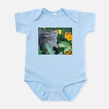 baby bunny horizontal design Body Suit