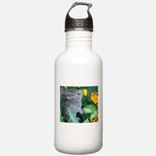 baby bunny horizontal design Water Bottle