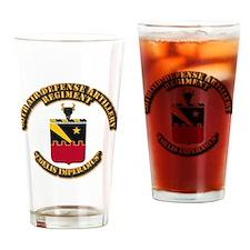COA - 60th ADA Regiment Drinking Glass