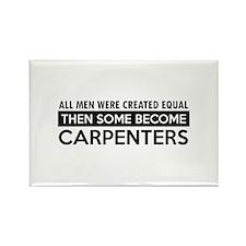 Carpenter Designs Rectangle Magnet