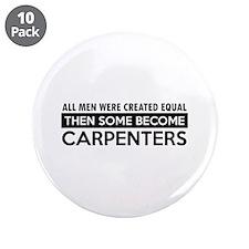 "Carpenter Designs 3.5"" Button (10 pack)"