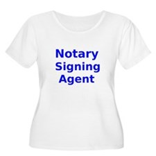 Notary Signing Agent Plus Size T-Shirt