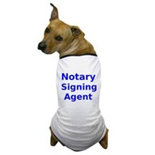 Notary Signing Agent Dog T-Shirt