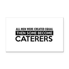 Caterers Designs Rectangle Car Magnet