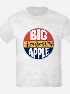 New York Vintage Label T-Shirt