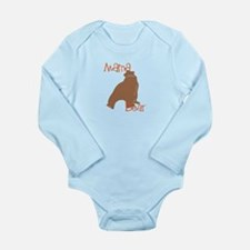 Mama Bear Long Sleeve Infant Bodysuit