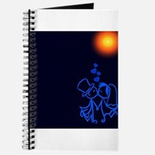 Kissing Married Couple (Navy/Blue) Journal