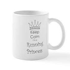 Keep Calm I'm a Running Princess Mug