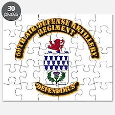 COA - 59th Air Defense Artillery Regiment Puzzle