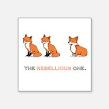 The Rebellious One - Sticker