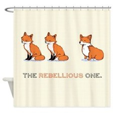 The Rebellious One - Shower Curtain