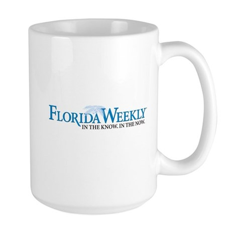 Florida Weekly Centered Logo Mugs