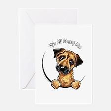 Border Terrier IAAM Greeting Card