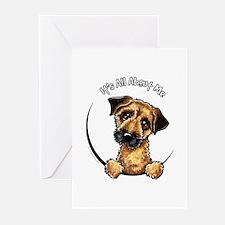 Border Terrier IAAM Greeting Cards (Pk of 10)