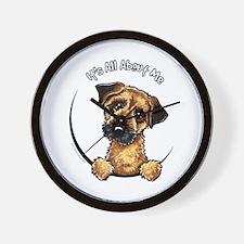 Border Terrier IAAM Wall Clock