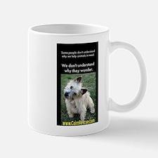 Wonders wondering Mug