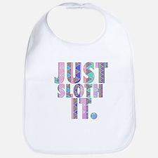 Just Sloth It Bib