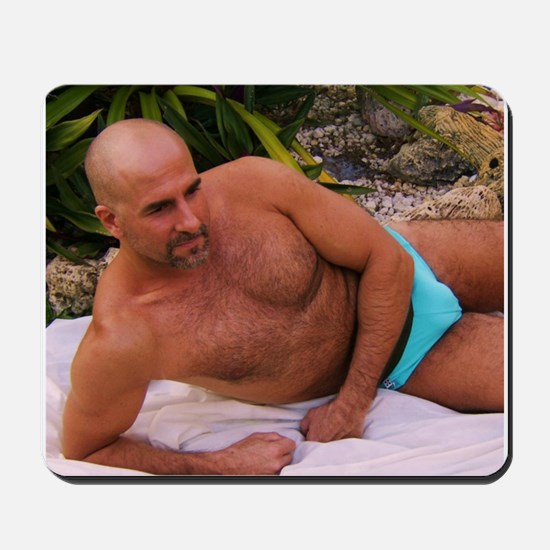 Blue Speedo Mousepad