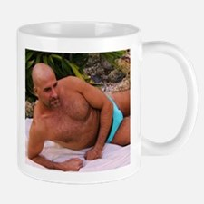 Blue Speedo Mug