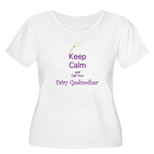Keep Calm and Call your Fairy Godmother Plus Size