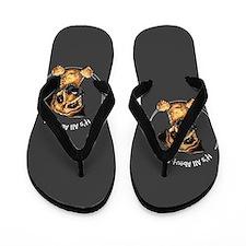 Border Terrier IAAM Flip Flops