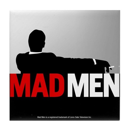 Mad Men Truth Lies Tile Coaster