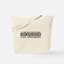 Civil Engineers Designs Tote Bag