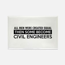 Civil Engineers Designs Rectangle Magnet