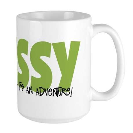 Swissy IT'S AN ADVENTURE Large Mug