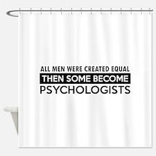 Psychologists Designs Shower Curtain