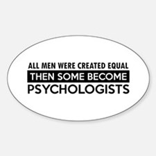 Psychologists Designs Decal