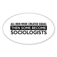 Sociologists Designs Decal