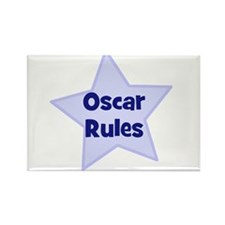 Oscar Rules Rectangle Magnet (10 pack)