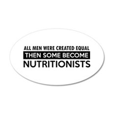 Nutritionists Designs Wall Decal