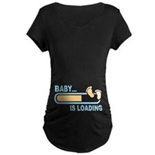 Baby is Loading Maternity T-Shirt