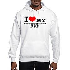 Aeronautical Engineer Job Designs Hoodie